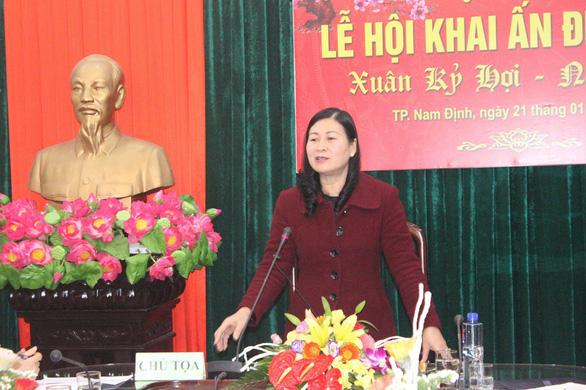 Lễ hội đền Trần: bí thư Thành ủy Nam Định còn bị 'mời ra' - Ảnh 2.