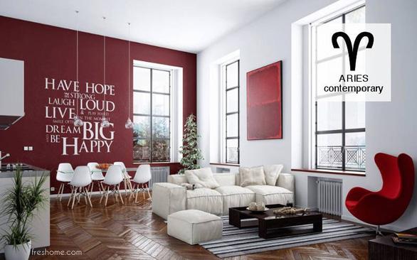 Phong cách thiết kế nội thất theo cung hoàng đạo (Phần 1) - Ảnh 3.