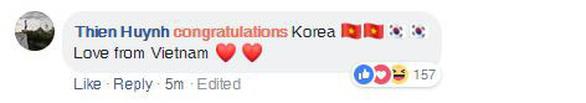 CĐV Việt áp đảo lời chúc mừng tuyển Hàn Quốc - Ảnh 4.