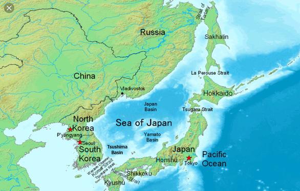 Nhật phản đối gọi vùng biển chung với Hàn Quốc là Biển Đông - Ảnh 2.