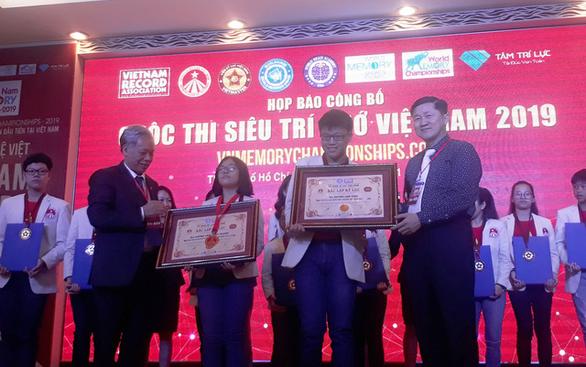 Việt Nam sắp có cuộc thi đầu tiên về siêu trí nhớ - Ảnh 1.