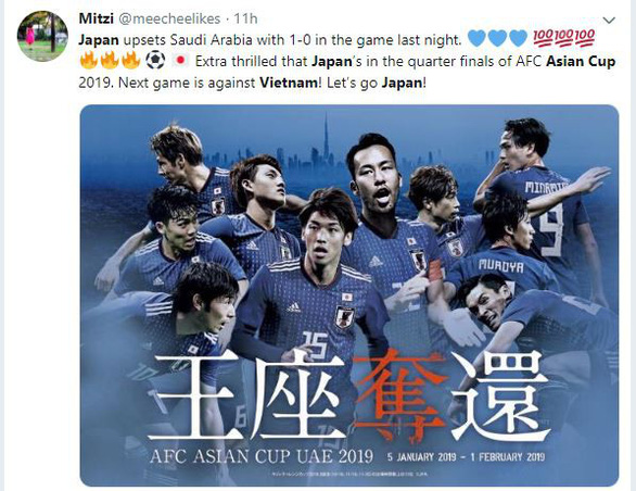 CĐV Nhật 'hào hứng' trước cuộc đối đầu với Việt Nam - Ảnh 3.