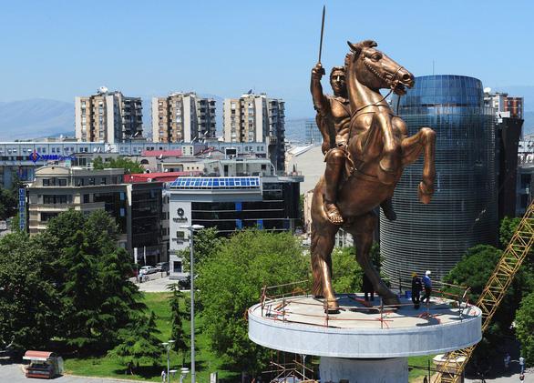 Macedonia phải đổi tên nước để vào EU - Ảnh 1.