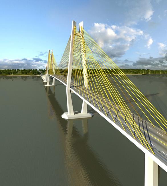 Kiến nghị đầu tư ODA cầu Rạch Miễu 2 vì tuyến đường quá nhiều BOT - Ảnh 1.