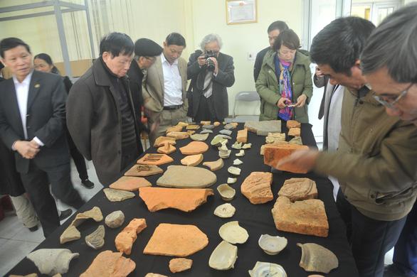 Phát hiện nhiều di vật quý tại di sản văn hóa thế giới Thành nhà Hồ - Ảnh 1.