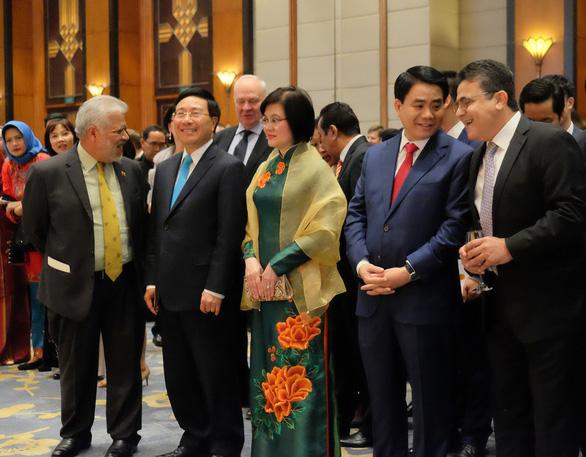 Phó thủ tướng nêu thông điệp hoà bình khi chúc Tết đoàn ngoại giao - Ảnh 2.