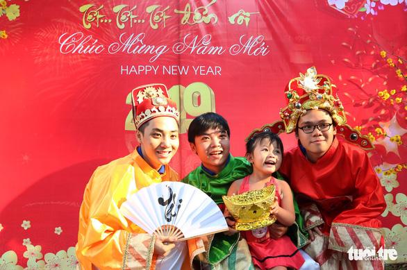 Mang Xuân yêu thương đến với bệnh nhi ung thư - Ảnh 8.