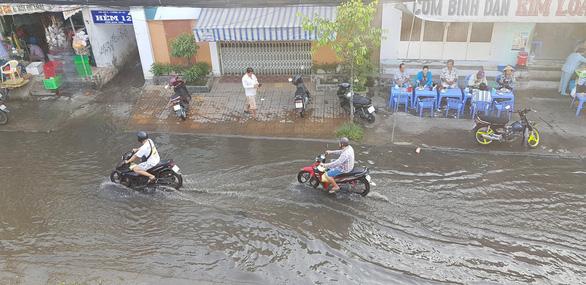 Nước sông Mekong cao bất thường, nhiều nơi ngập - Ảnh 1.
