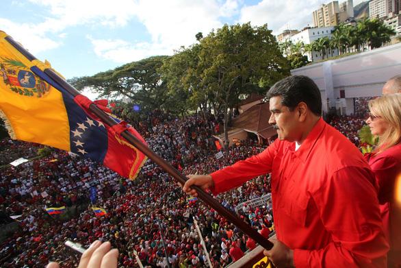 Mỹ phớt lờ đe dọa trục xuất nhà ngoại giao của Venezuela - Ảnh 1.
