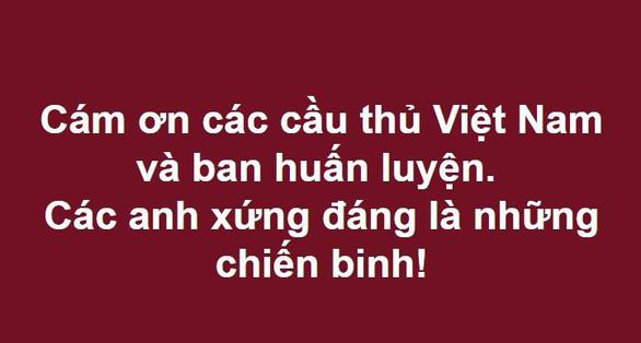 Cư dân mạng hối tuyển Việt Nam nhanh về ăn tết - Ảnh 16.