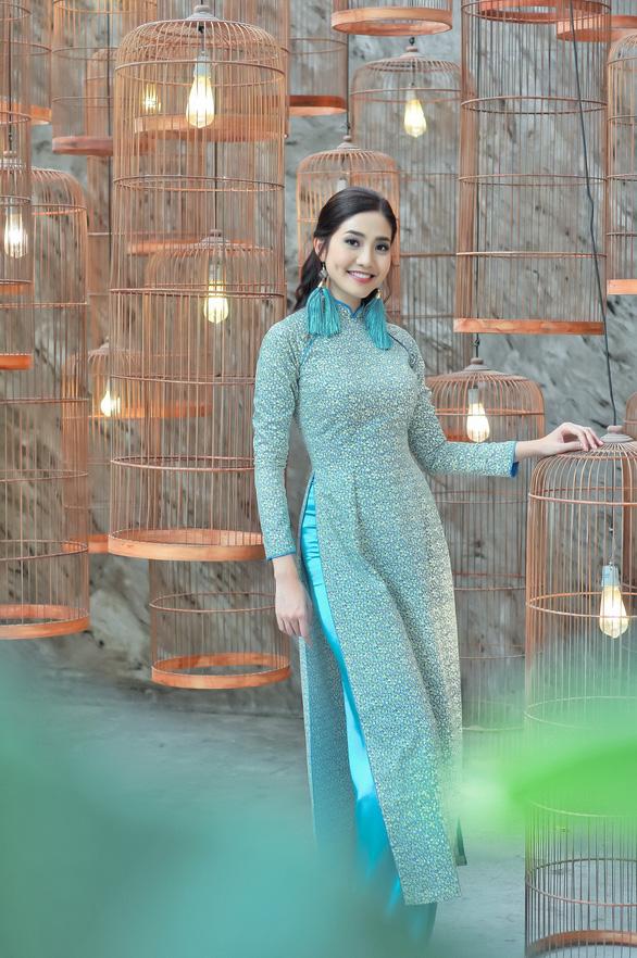 Du xuân cùng áo dài từ lụa Vanya - Ấn Độ - Ảnh 4.