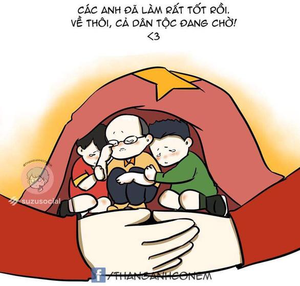 Ảnh chế tuyển Việt Nam máu lửa hot trên mạng xã hội - Ảnh 7.