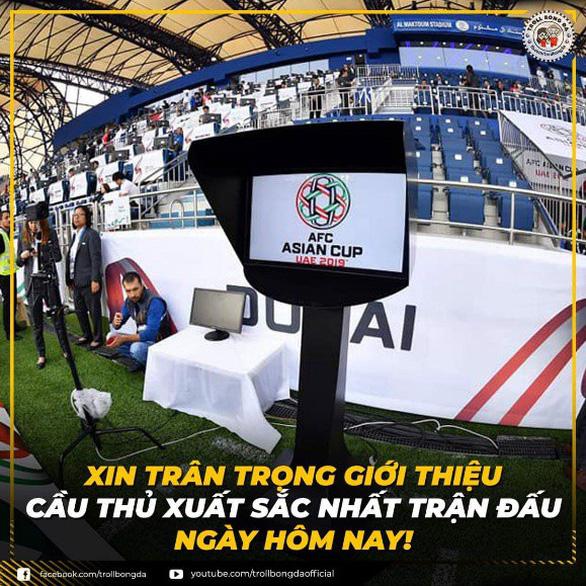 Ảnh chế tuyển Việt Nam máu lửa hot trên mạng xã hội - Ảnh 2.