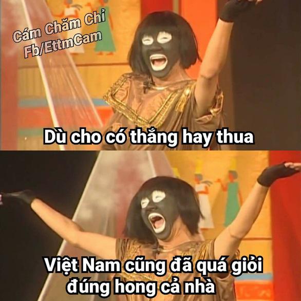 Ảnh chế tuyển Việt Nam máu lửa hot trên mạng xã hội - Ảnh 11.