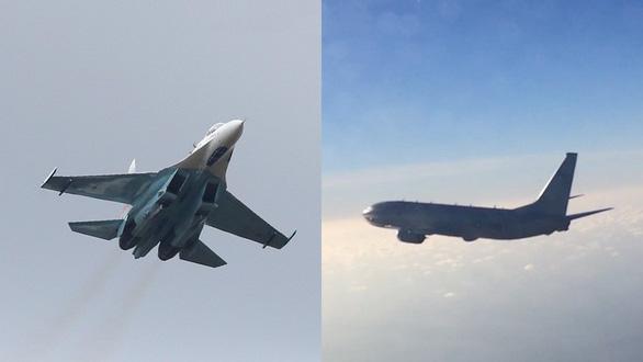 Nga thông báo điều Su-27 chặn máy bay tuần thám Mỹ - Ảnh 1.