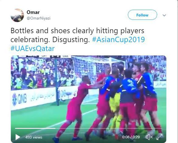 Chơi xấu và thua trận trước Qatar, UAE bị cộng đồng mạng công kích - Ảnh 1.