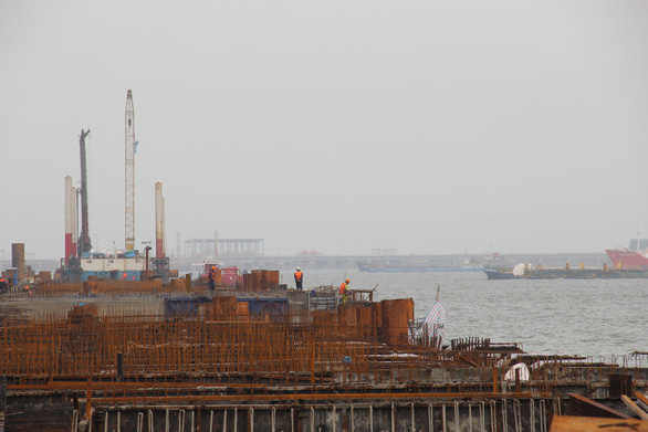 Nhận chìm vật chất ở Quảng Ngãi do tiến độ quá gấp - Ảnh 3.