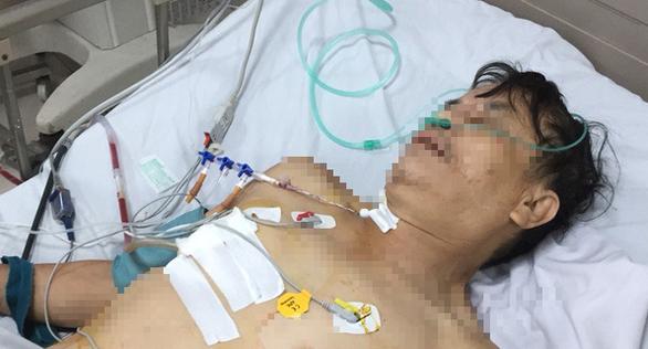 Cứu sống bệnh nhân vỡ một phần tim - Ảnh 1.