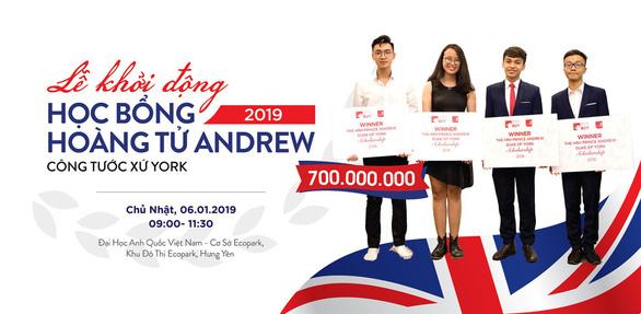 Khởi động chương trình học bổng Hoàng tử Andrew 2019 trị giá 700 triệu đồng - Ảnh 2.