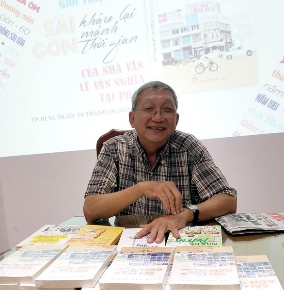 Nhà văn Lê Văn Nghĩa du xuân giới thiệu sách ở Pháp - Ảnh 3.
