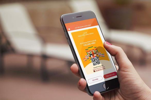 Lì xì không tiền mặt với ứng dụng Agribank E-Mobile Banking - Ảnh 1.