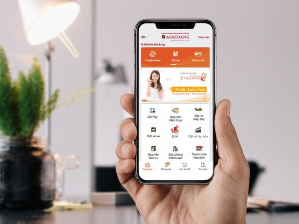 Lì xì không tiền mặt với ứng dụng Agribank E-Mobile Banking - Ảnh 2.