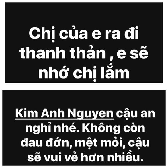Thương xót người mẫu Kim Anh qua đời ở tuổi 26 do ung thư - Ảnh 2.