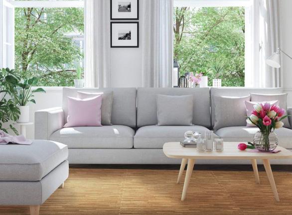 4 phương án cải tạo sàn đơn giản, tiết kiệm cho người thuê nhà - Ảnh 3.