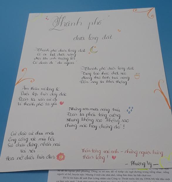 Học sinh làm thơ, vẽ tranh, đóng kịch từ những bài báo - Ảnh 1.