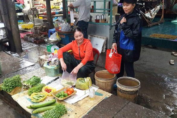 Tàu cá chở rau ra Phú Quốc bất chấp lệnh cấm biển - Ảnh 1.