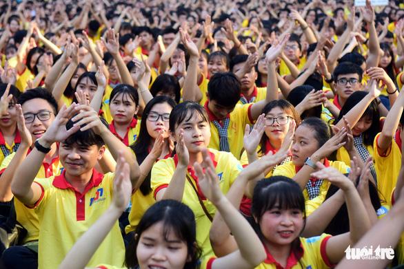 Bừng sức trẻ trong lễ xuất quân chiến dịch Xuân tình nguyện - Ảnh 3.