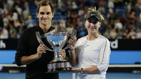 Federer giúp Thụy Sĩ vô địch Hopman Cup 2019 - Ảnh 1.