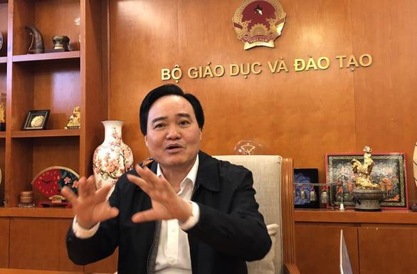 Bộ trưởng Phùng Xuân Nhạ: Sớm công bố đường hướng đổi mới giáo dục - Ảnh 1.
