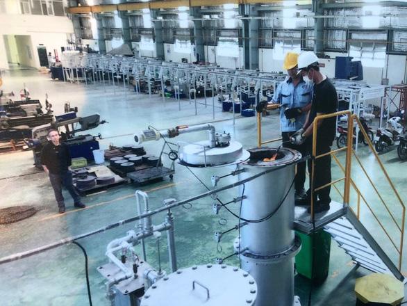 Xử lý rác hữu cơ tạo ra điện gọn nhẹ kiểu Nhật - Ảnh 2.