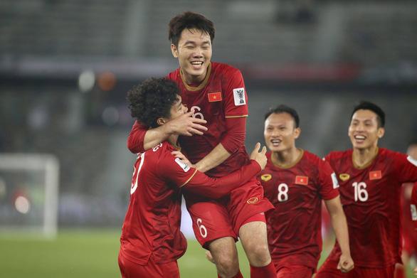 Việt Nam vào nhóm đội nhận vé vớt sau lượt đầu vòng bảng Asian Cup 2019 - Ảnh 1.