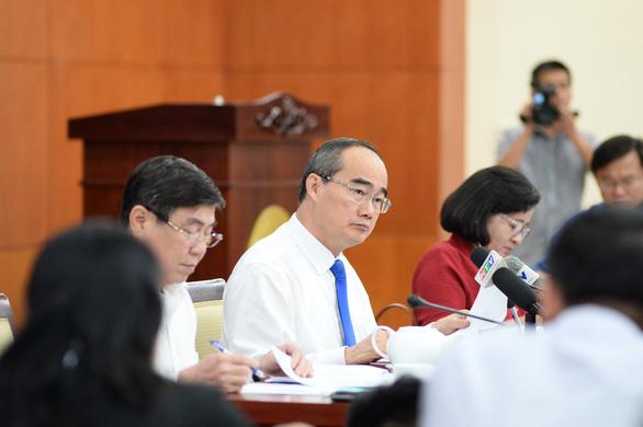 Bí thư Nguyễn Thiện Nhân: Cán bộ bị xử lý, uy tín TP.HCM bị ảnh hưởng - Ảnh 2.