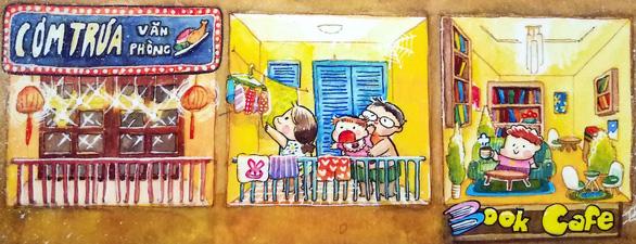 Sóc và bồ câu cùng độc giả nhí khám phá Sài Gòn của em - Ảnh 2.