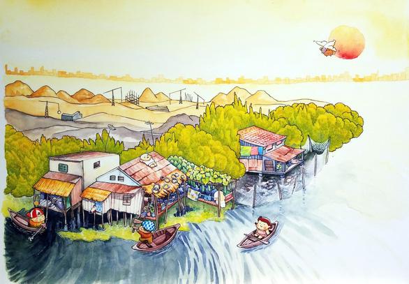 Sóc và bồ câu cùng độc giả nhí khám phá Sài Gòn của em - Ảnh 6.
