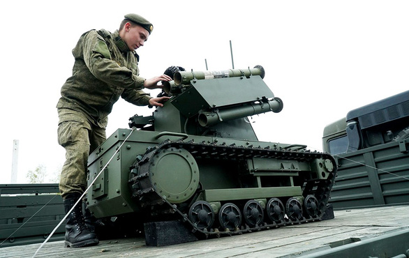 Vũ khí sát thương tự động - Kỳ 3: Máy bay và xe tăng không người lái của Nga - Ảnh 3.
