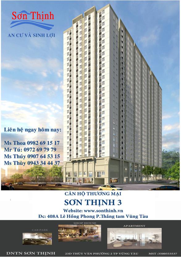 Sơn Thịnh 3 - căn hộ thương mại đắc địa tại Vũng Tàu - Ảnh 1.
