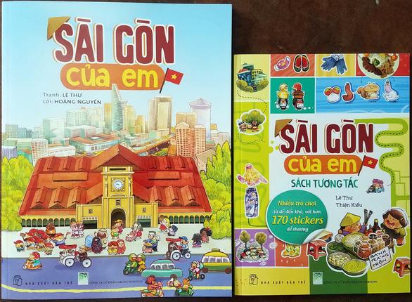 Sóc và bồ câu cùng độc giả nhí khám phá Sài Gòn của em - Ảnh 1.