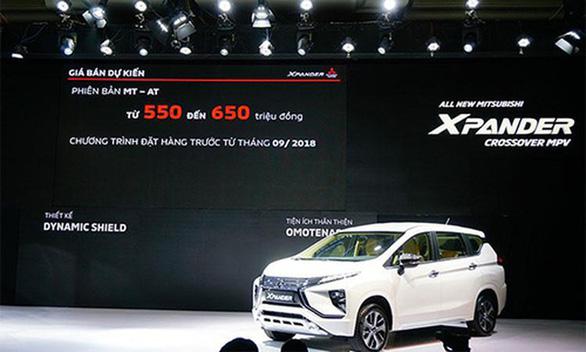 Lỗi bơm xăng, Mitsubishi triệu hồi 9.000 xe Xpander và Outlander tại Việt Nam - Ảnh 1.