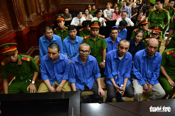 Phan Hữu Hiệu cùng 8 đồng phạm buôn ma túy xuyên quốc gia hầu tòa - Ảnh 1.