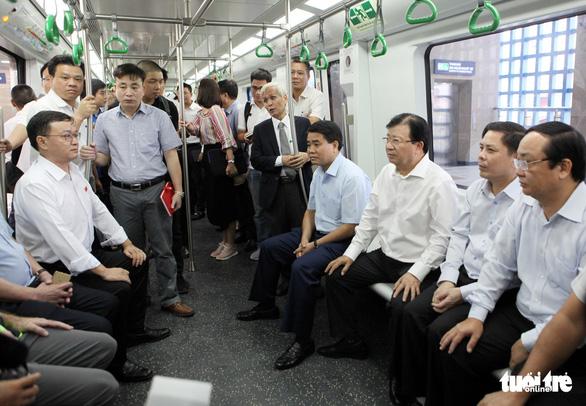 Bao giờ đường sắt Cát Linh - Hà Đông mới vận hành? - Ảnh 1.
