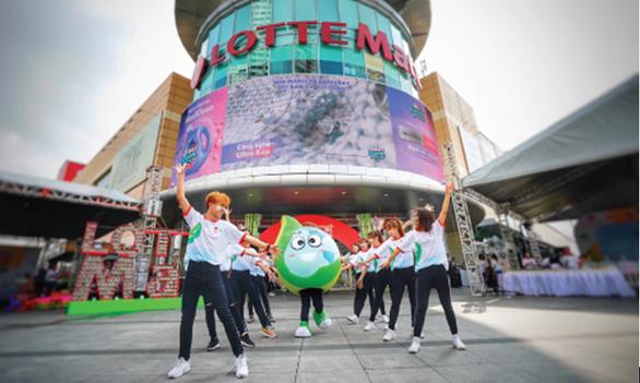 202 thương hiệu đồng hành cùng Lotte Mart 'Cam kết Xanh' - Ảnh 1.