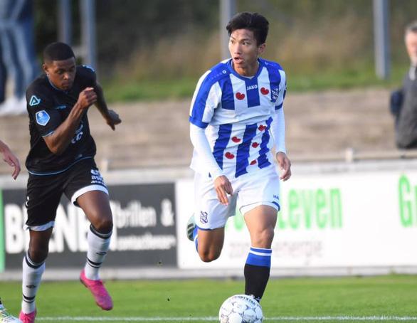 Văn Hậu đá trọn 90 phút, chơi năng nổ giúp Jong Heerenveen giành 1 điểm - Ảnh 1.