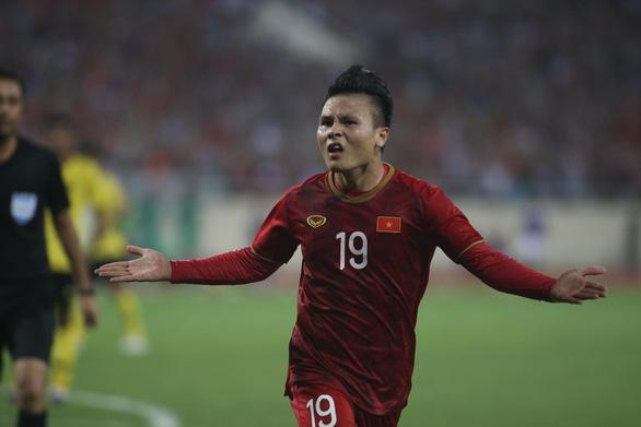 Quang Hải ghi bàn, Việt Nam đá bại Malaysia ở vòng loại World Cup 2022 - Ảnh 2.