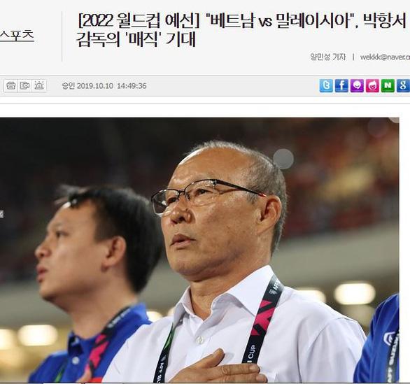 Báo Hàn: HLV Park Hang Seo sẽ tiếp tục mang đến điều kỳ diệu cho bóng đá Việt Nam - Ảnh 1.