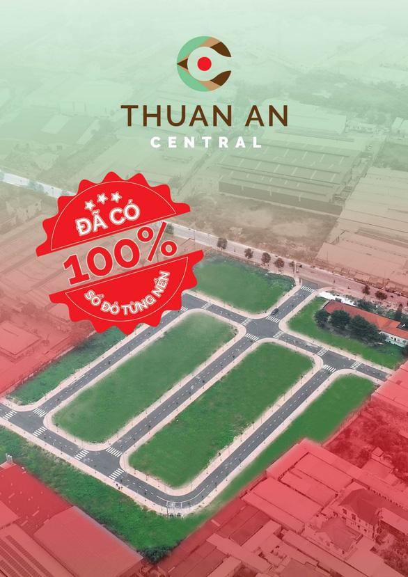 Sổ đỏ từng nền – Át chủ bài của Thuận An Central tại Bình Dương - Ảnh 1.