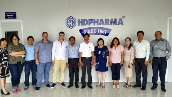 HDPHARMA hợp tác cùng Bộ Y tế Campuchia và Công ty Karuna Pharma - Ảnh 2.